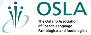 Ontario Association of the speech language pathologist and audiologists